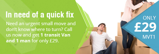 Special Prices for Transit Man and Van Hire