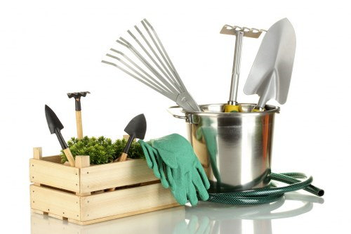 moving gardening tools