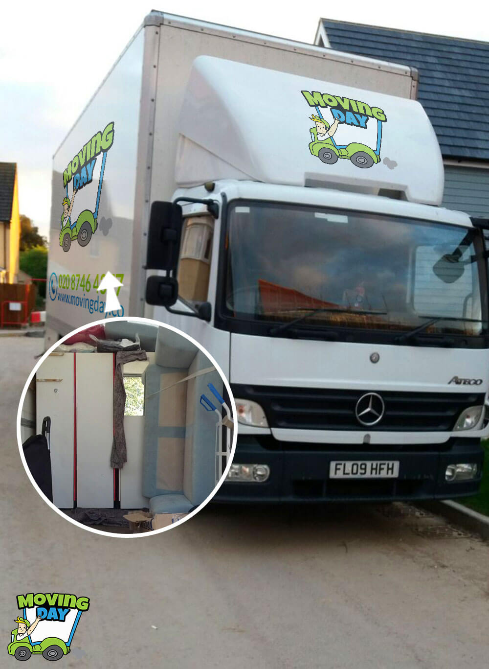 Sutton removals companies SM1