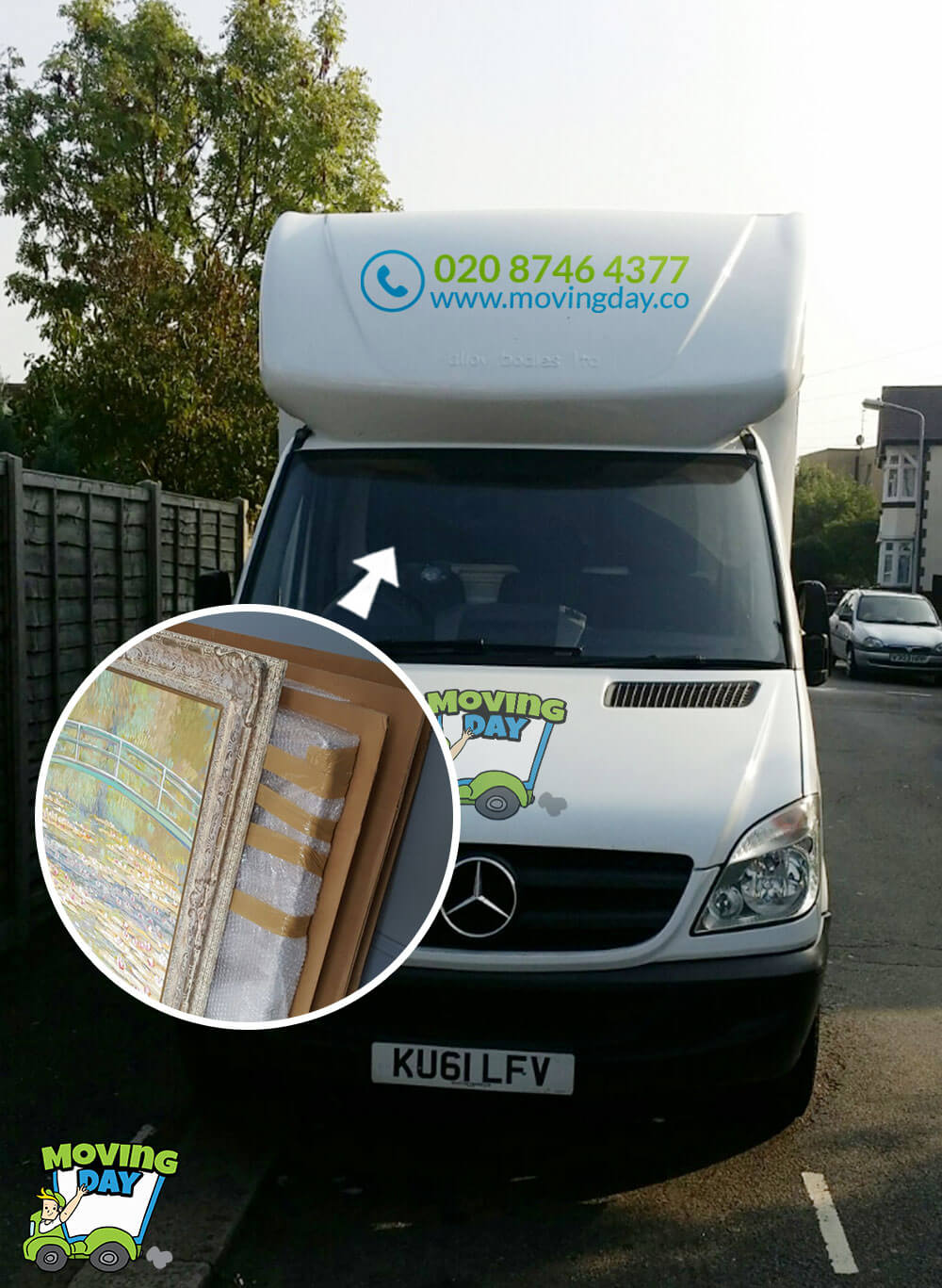 Bayswater removal company W2