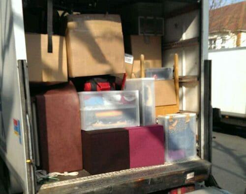 man van removals South Kensington